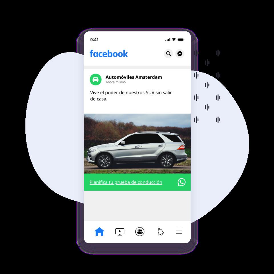 publicidad whatsapp para automoción