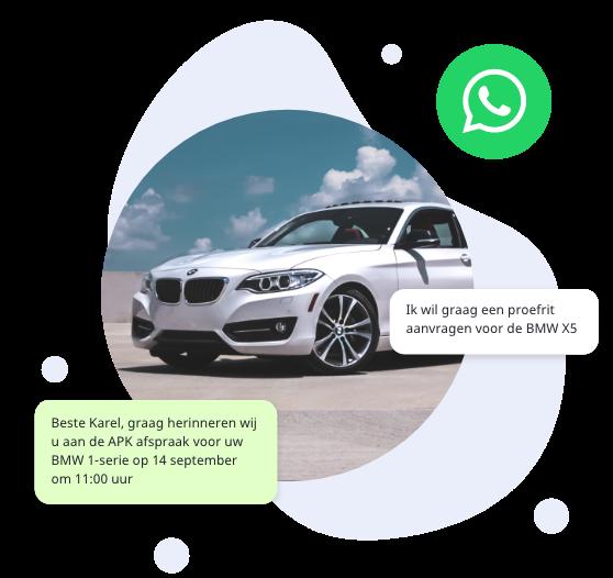 WhatsApp automotive solution