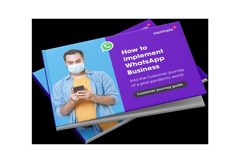 WhatsApp customer journey guide