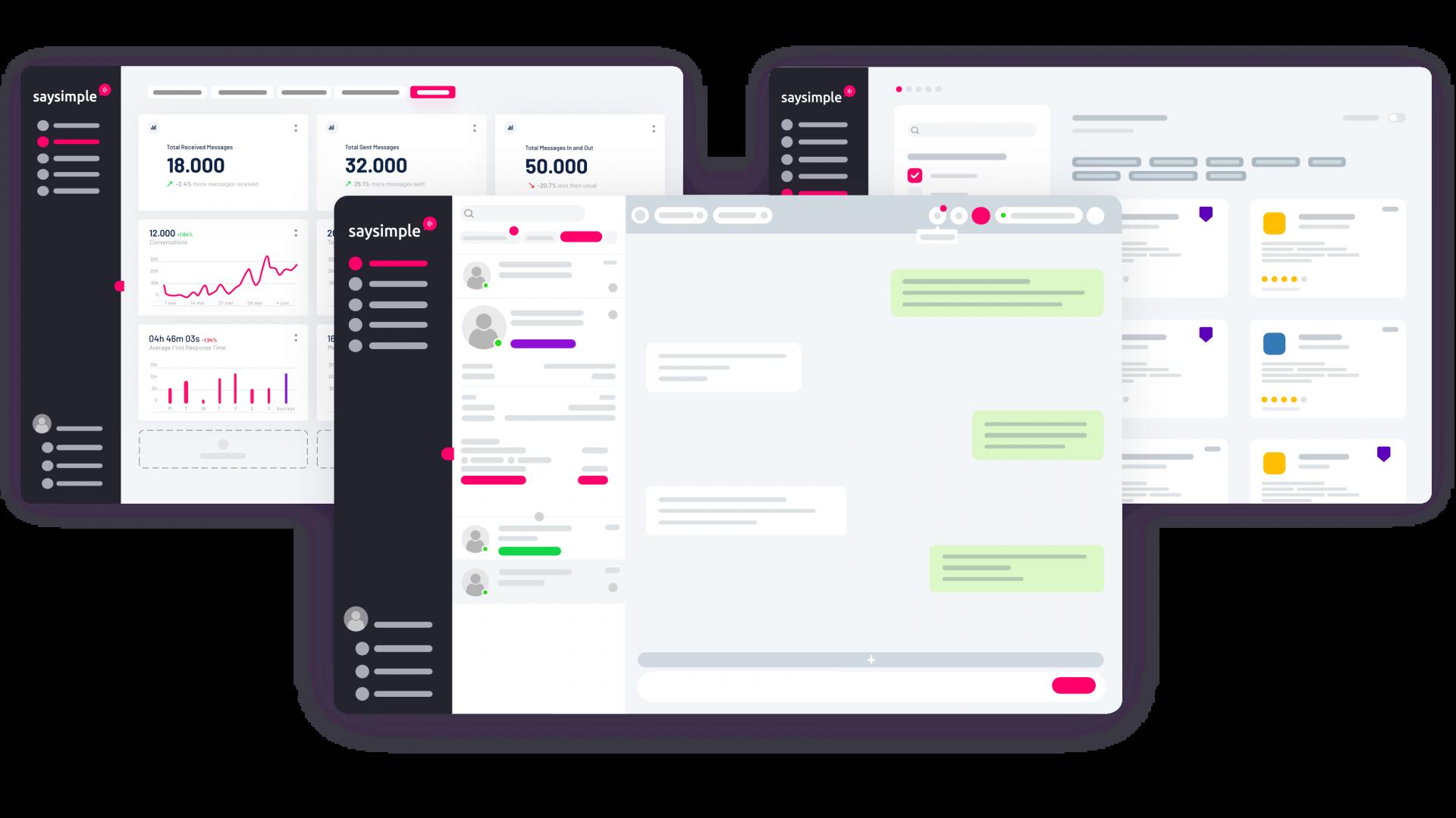 Saysimple customer communications platform