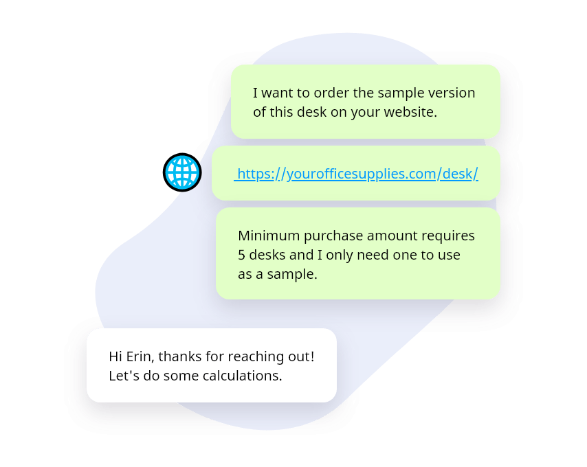 Provide customised information